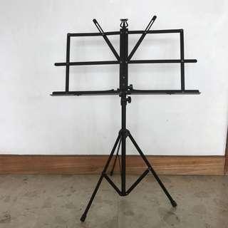 foldable sheet music holder tripod stand