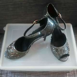 High heels (silver)