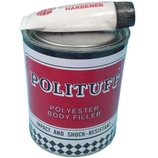 POLITUFF with hardener 1 liter polituff and 30grams hardener