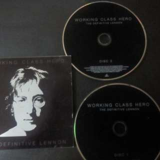 2 CD JOHN LENNON - THE DEFINITIVE COLLECTION
