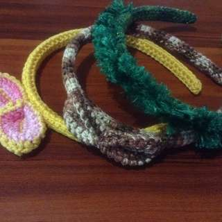 Crochet headband set c