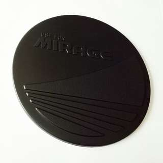 MIRAGE GAS TANK COVER BLACK