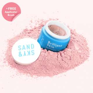 [FREE REG MAIL] BNIP Sand&Sky Australian Purifying Pink Clay Mask RESTOCKED