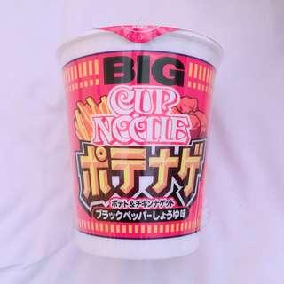 日本合味道薯條麥樂雞味杯麵 cup noodles