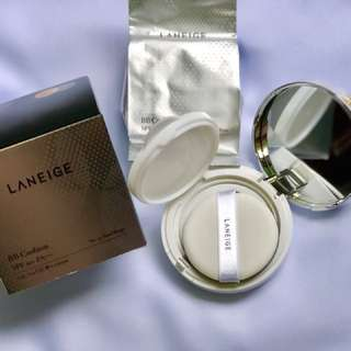 Authentic Laneige BB cushion SPF 50+ PA+++ Plus refill pack