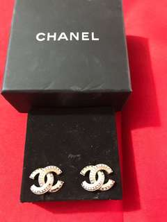 Chanel earings authentic