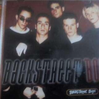 BACKSTREET BOYS 1ST ALBUM original/imported