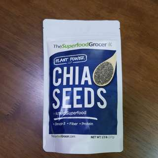 Superfood Grocer Chia Seeds
