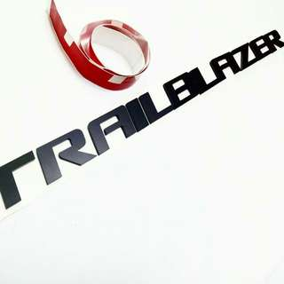 HOOD EMBLEM TRAILBLAZER BLACK