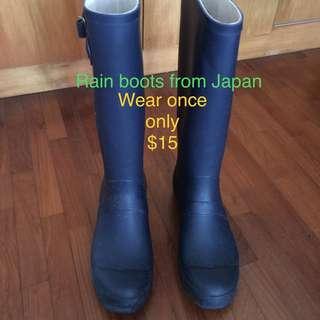 Japan rain boots