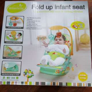 Mastela travel fold up infant seat