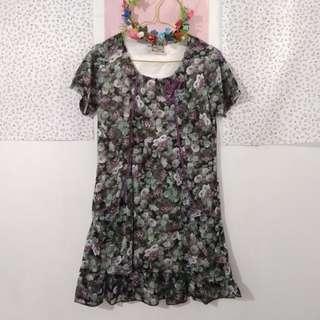 Vintage Flower Dress Import
