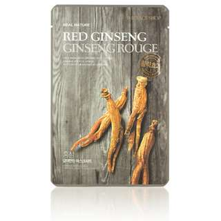 (8pc) Real Nature Red Ginseng Face mask