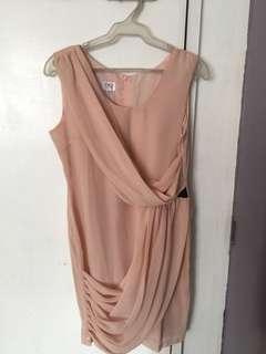 Nude Cocktail Dress