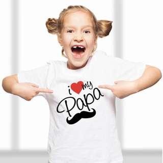 Digitally printed t-shirt for girl