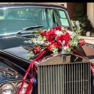 結婚物資 紅色 車花 上鏡靚好多 幸福承傳