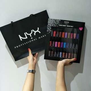 30pcs NYX Mini Lipsticks Set
