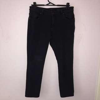 Black wrangler jeans