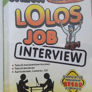 Tips Lolos Job Interview