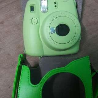 Instax mini9 refilling camera