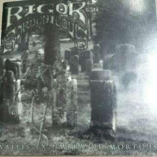 Music CD (Metal): Rigor Sardonicous–Vallis Ex Umbra De Mortuus - Doom Metal