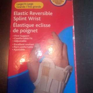 Elastic Reversible Splint Wrist - XL/ Large