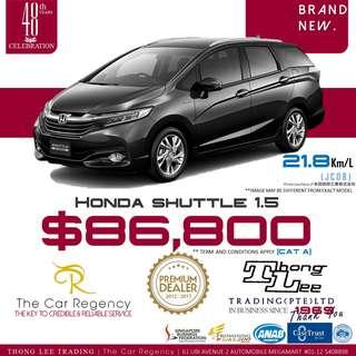 Honda SHUTTLE 1.5 ( FACELIFT )( NEW CAR) / AIRWAVE