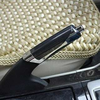 Car handbrake cover carbon fibre