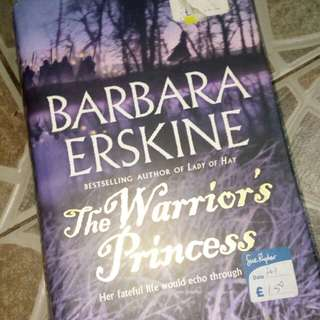 The Warrior's Princess Hardcover Book by Barbara Erskine