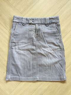 GAP Stretch Denim Skirt