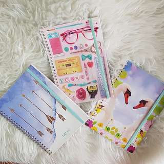 typo notebooks A5 (ONLY SWAN DESIGN IS AVAIL)