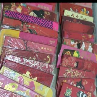 Assorted red packets Red Packets