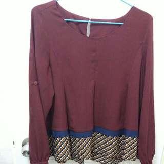 $30韓國組紅色衫