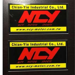 NCY 機車 摩托車 貼紙