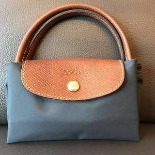 Longchamp 小袋(藍色)