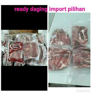 Daging import pilihan