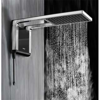 Shower Heater Acqua Storm head Ultra Black/Chrome