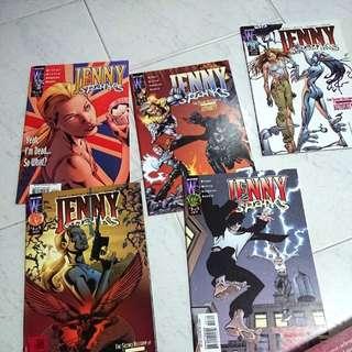 Jenny Sparks #1-5 Wildstorm Comics