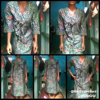 Dress batik (Free ongkir JABODETABEK)