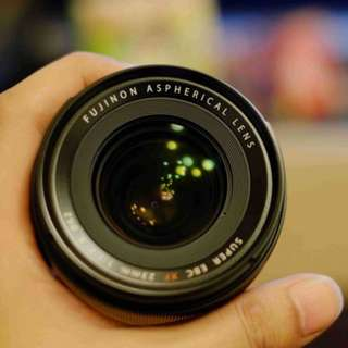 Fujifilm XF 23mm f 1.4 R in excellent condition