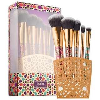 [BNIB] Tarte limited-edition artful accessories brush set