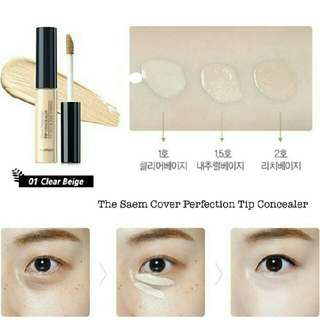 THE SAEM - COVER PROTECTION TOP CONCEALER SPF28/PA++ /// 100% ORIGINAL - KOREA PRODUCT