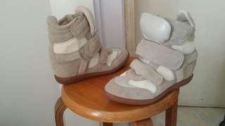 淺灰皮boots