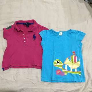 RM30 FOR ALL 3 Baby Girl Tops