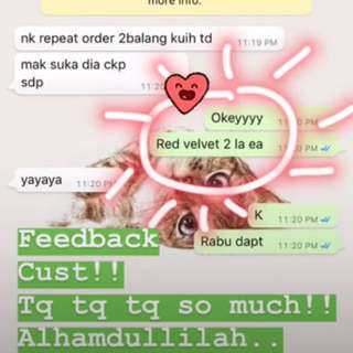 Yayy another happy cust! :)