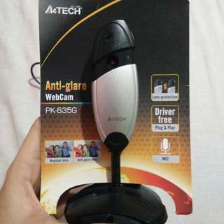 A4Tech anti-glare webcam