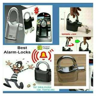 Kinbar padlock alarm