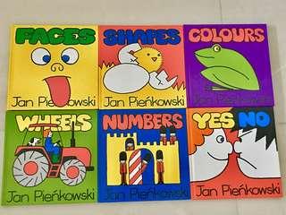 Jan Pienkowski Set (6 hardbacks)