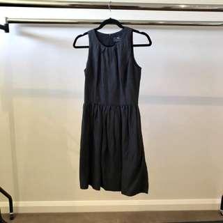 Cue A-Line Black Dress