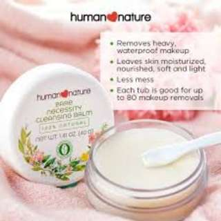 Human Nature Bare Necessity Cleansing Balm